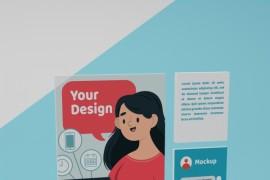 社交媒体应用程序界面模型 - A015